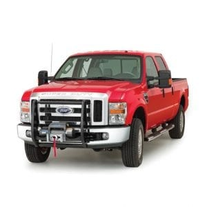 FORD WITH GRILLE GUARD