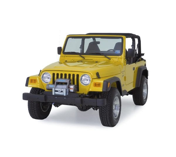 JEEP WITH WINCH MOUNT